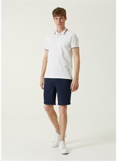 Beymen Collection Polo Yaka T-shirt Beyaz